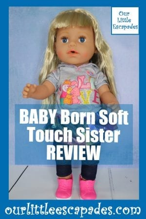 BABY Born Soft Touch Sister REVIEW