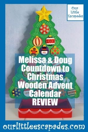 Melissa Doug Countdown Christmas Wooden Advent Calendar REVIEW