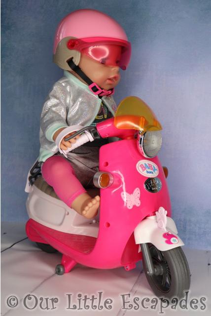 baby born city remote control scooter accessories