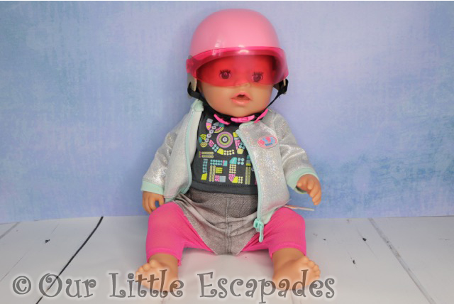 baby born dressed city scooter adventure