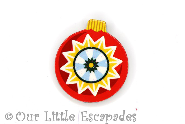 christmas star pattern magnetic christmas tree bauble