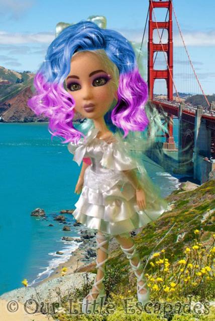echo snapstar studio creations rainbow hair golden gate bridge