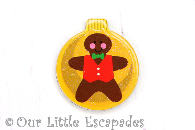 gingerbread man magnetic christmas tree bauble melissa doug christmas wooden advent calendar