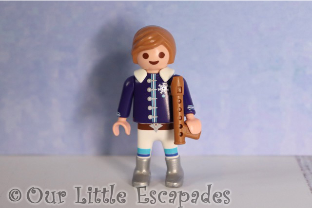 little boy recorder playmobil christmas ball advent calendar