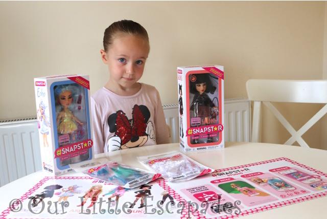 little e snapstar dolls echo yuki outfit packs