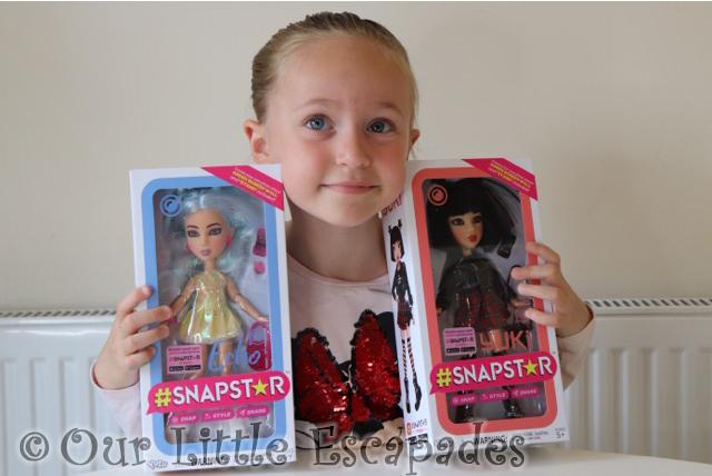 little e snapstar dolls echo yuki