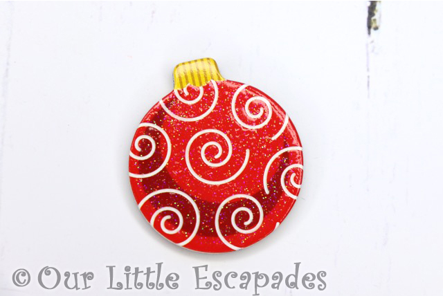 swirl pattern magnetic christmas tree bauble melissa doug christmas wooden advent calendar