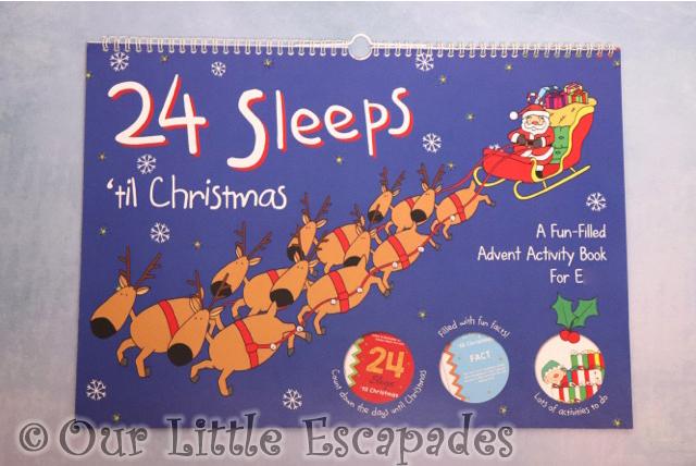 24 sleeps til christmas advent book Advent Calendars For Kids