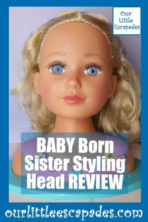 BABY Born Sister Styling Head REVIEW