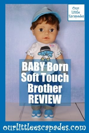 BABY Born Soft Touch Brother REVIEW