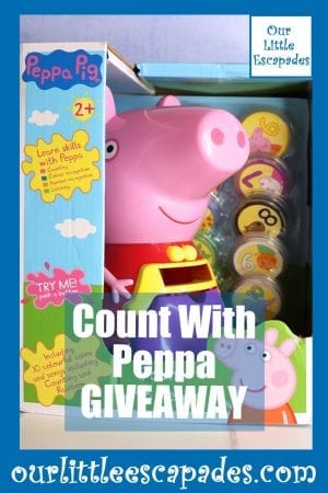 Count With Peppa GIVEAWAY