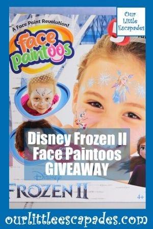 Disney Frozen II Face Paintoos GIVEAWAY