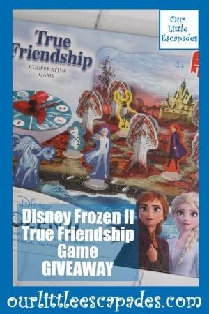 Disney Frozen II True Friendship Game GIVEAWAY