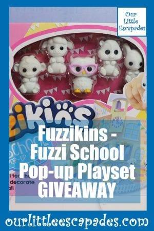 Fuzzikins Fuzzi School Pop-up Playset GIVEAWAY