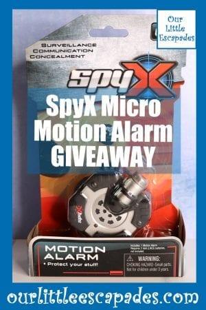 SpyX Micro Motion Alarm GIVEAWAY