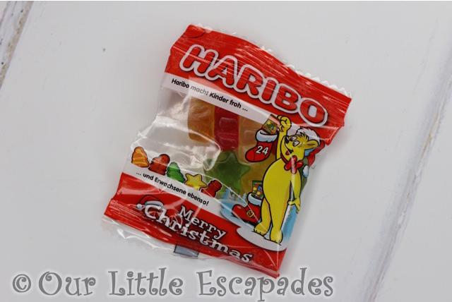 christmas minis fruit flavour gums haribo advent calendar
