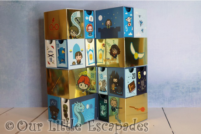 harry potter infinity advent calendar towers