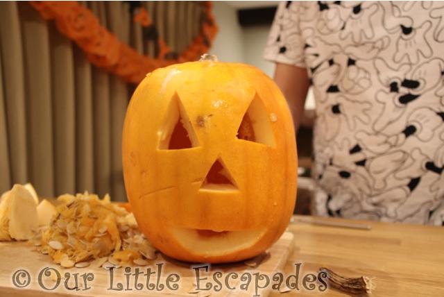 jack o lantern our 2019 pumpkin carving
