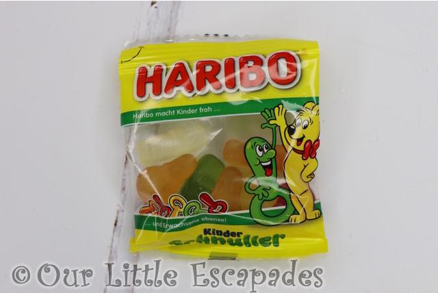 kinder schnuller fruit flavour gums haribo advent calendar