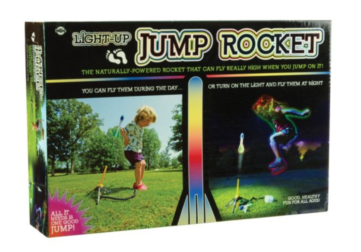 light up jump rocket Christmas Gift Ideas For Children With Autism