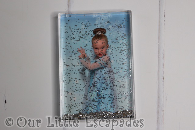 little e elsa makeover silver glitter acrylic photo block personalised funky pigeon christmas gift ideas