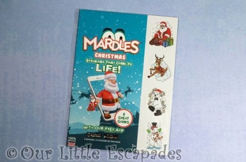 mardles christmas 4d interactive stickers christmas giveaway