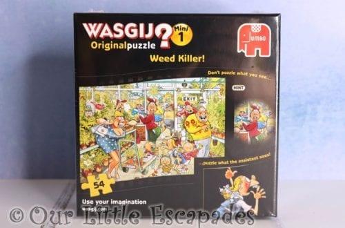 mini wasgij jigsaw puzzle weed killer christmas giveaway