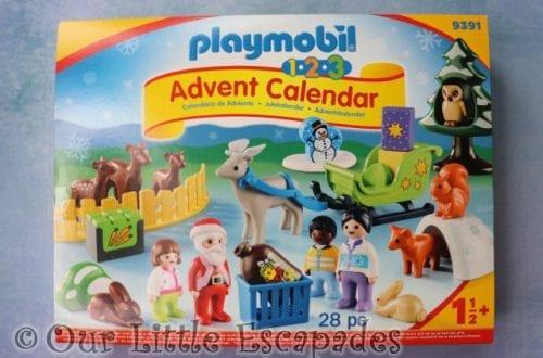 playmobil 123 advent calendar christmas forest