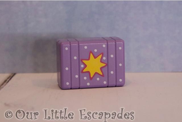 purple christmas present