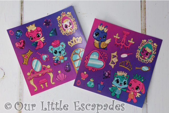 royal hatchimal stickers