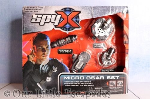 spyx micro gear set christmas giveaway
