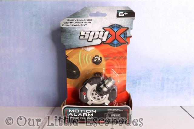 spyx micro motion alarm christmas giveaway