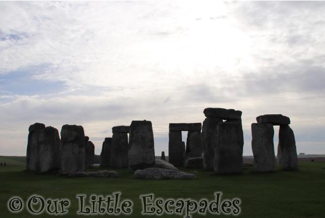 stone circle stonehenge sunrise