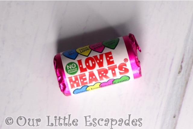 swizzels love hearts retro sweet advent calendar