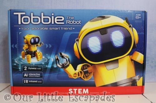 tobbie the robot christmas giveaway