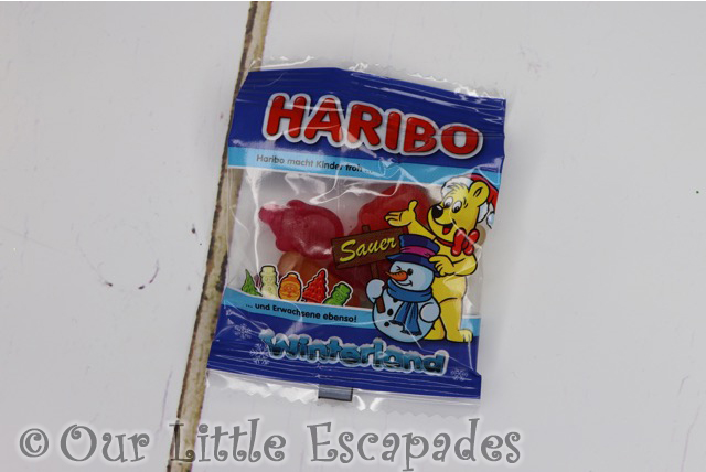 winterland minis fruit flavour gums haribo advent calendar