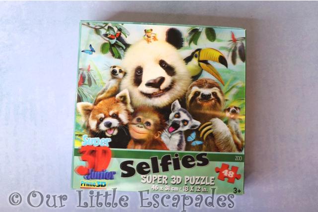 zoo selfie 3d puzzle