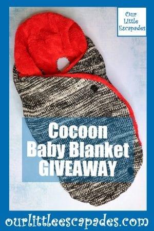 Cocoon Baby Blanket GIVEAWAY