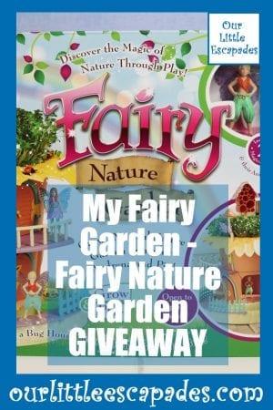 My Fairy Garden Fairy Nature Garden GIVEAWAY