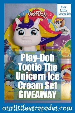 Play Doh Tootie The Unicorn Ice Cream Set GIVEAWAY