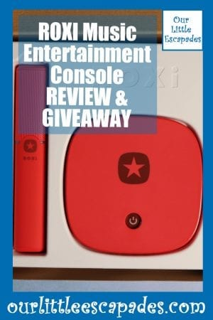 ROXI Music Entertainment Console REVIEW GIVEAWAY