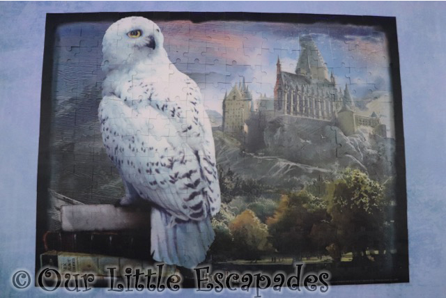 complete hedwig harry potter 3d effect jigsaw puzzle