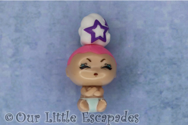 white cloud purple star adorable poopy baby blume baby pop