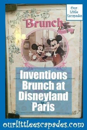 Inventions Brunch at Disneyland Paris