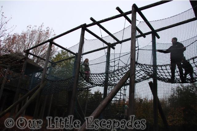 darren ethan little e climbing great ape play area