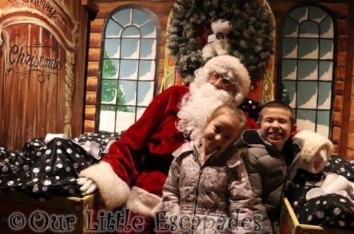 ethan little e meeting santa colchester zoo santas grotto