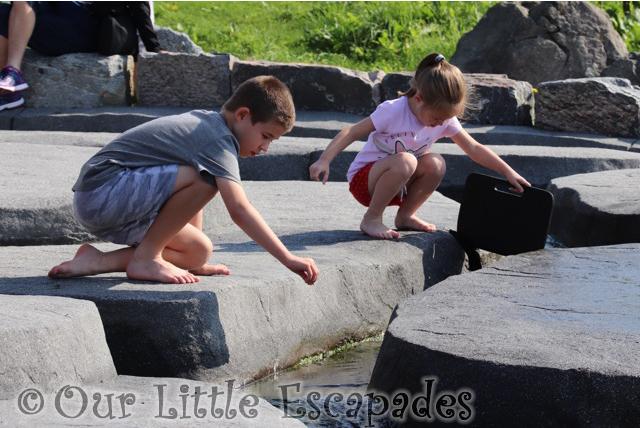 ethan little e water play area atlanterhavsparken alesund norwegian aquarium