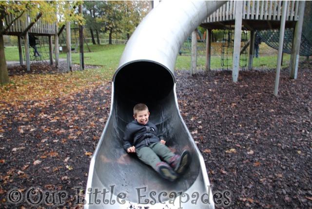 ethan slide great ape play area