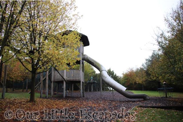 great ape play area