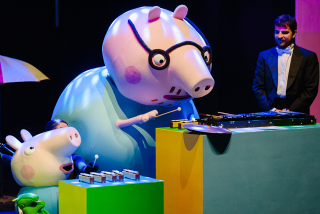 daddy pig george pig orchestra